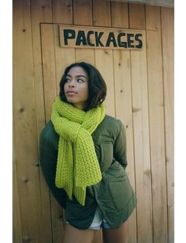 Chunky Ribbed Scarf by Urban Outfitters