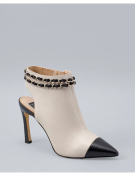 Colorblock Leather Shooties by Whbm