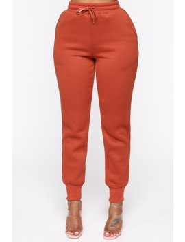 All Chills Pant   Rust by Fashion Nova