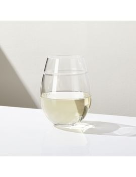 Callaway Stemless Wine Glass by Crate&Barrel