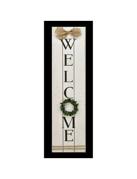 8 X32 Wood Welcome Sign8 X32 Wood Welcome Sign by At Home