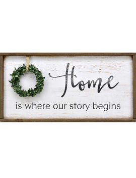 Aw 11 X23 Home Story Wreathaw 11 X23 Home Story Wreath by At Home