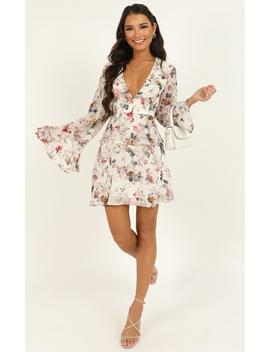 But To You Its All The Same Dress In White Floral by Showpo Fashion