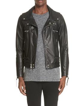 Riders Leather Jacket by John Elliott