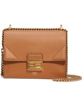 Small Kan U Leather Shoulder Bag by Fendi