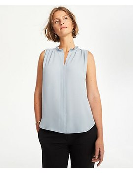 "<A Href=""Https://Www.Anntaylor.Com/Micro Pleat Split Neck Shell/507971?Sku Id=27842027&Default Color=1365&Price Sort=Desc"" Tabindex=""0"" Data Di Id=""Di Id 8b966dbf A484e6ef"">Micro Pleat Split Neck Shell</A> by Ann Taylor"