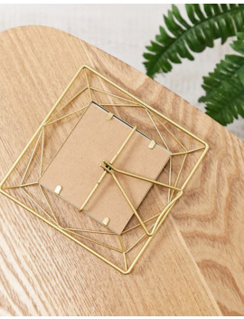 Sass & Belle Celestial Gold Wire Photo Frame by Sass & Belle
