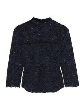 Georgie Crochet Trimmed Corded Lace Top by Marissa Webb