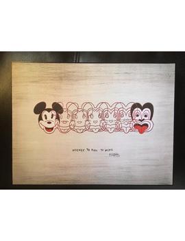 Aloha Mickey To Tiki Disneyland Art by Etsy