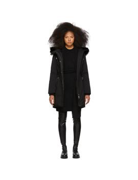 Ssense Exclusive Black Down Anabel Coat by Mackage