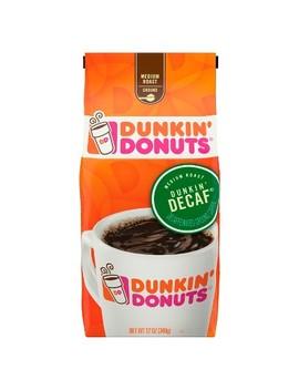 Dunkin' Donuts Medium Roast Ground Coffee   Decaf   12oz by Dunkin' Donuts