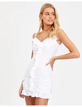 Ruffle Mini Dress by Glassons