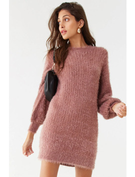 Fuzzy Mini Dress by Forever 21