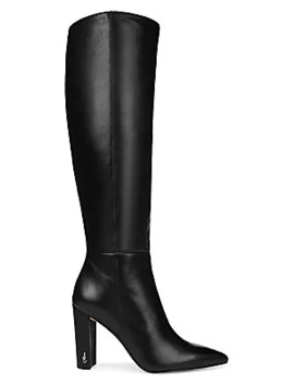 Raakel Knee High Leather Boots by Sam Edelman