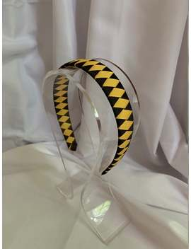Yellow And Black Ribbon Headband Team Hufflepuff by Etsy