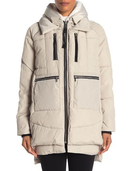 Faux Shearling Lined Parka Jacket by Bagatelle