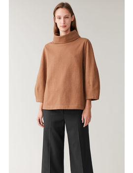 Turtleneck Rounded Top by Cos