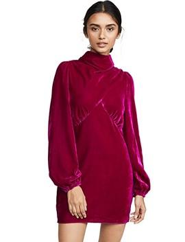 Mock Neck Mini Dress by Divine Heritage