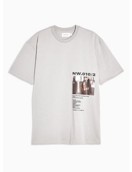 Grey Photo Print T Shirt by Topman