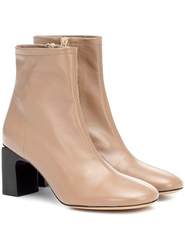 Vasi Leather Ankle Boots by By Far