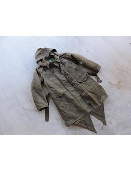 Beat To Hell Rare Vintage Croacia Army Fish Tail Parka M by Etsy