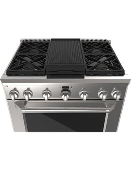 "36"" Gas Cooktop   Stainless Steel by Monogram"