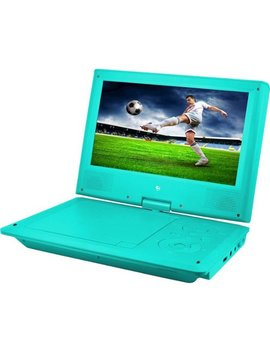 "9"" Portable Dvd Player   Teal by Ematic"