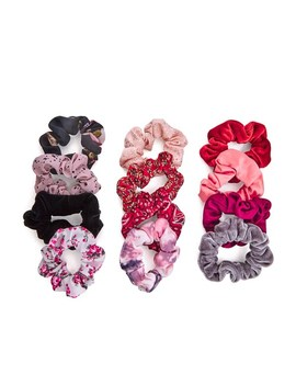 12 Days Of Scrunchies Warm Color Set by Unbranded