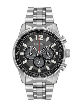 Men's Nighthawk Eco Drive Chronograph Watch, 43mm by Citizen