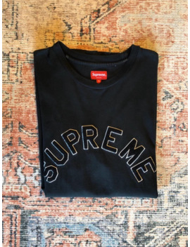 Supreme Chenille Arc Logo S/S Shirt by Supreme  ×