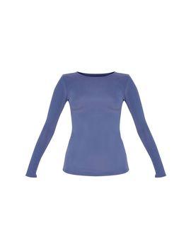 Petrol Basic Long Sleeve Gym Top by Prettylittlething