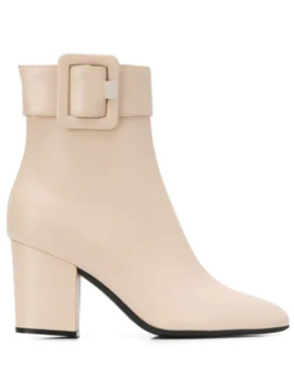 Side Buckle Ankle Boots by Sergio Rossi