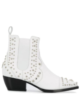Low Cowboy Boots by Philipp Plein