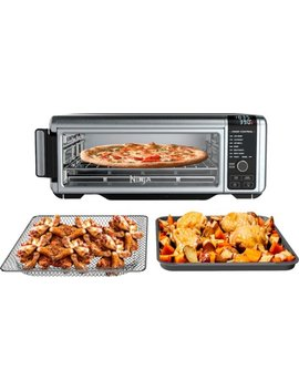 Toaster Oven With Air Fryer   Stainless Steel/Black by Ninja