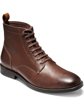 Feathercraft Grand Plain Toe Boot by Cole Haan