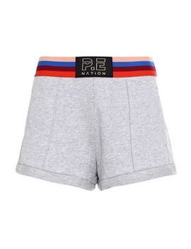 Starting Whistle Mélange French Cotton Terry Shorts by P.E Nation