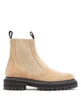 Suede Chelsea Boots by Proenza Schouler