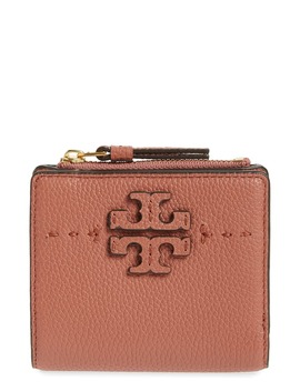 Mini Mc Graw Leather Wallet by Tory Burch