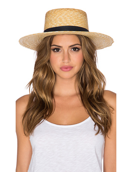 Klint Hat In Natural by Janessa Leone
