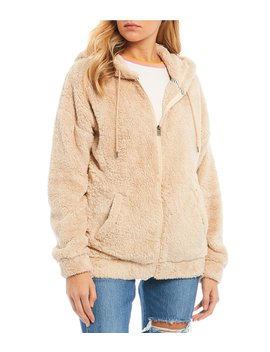 Head On Down Sherpa Fleece Hooded Jacket by Roxy