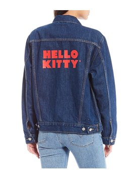 Hello Kitty Denim Trucker Jacket by Levi's