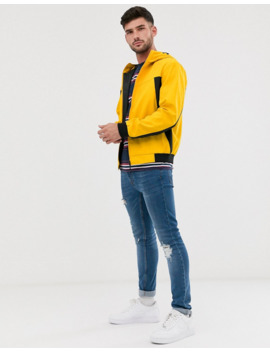 Jack &Amp; Jones Core Windbreaker Jacket In Yellow by Jack & Jones