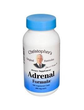 Christopher's Original Formulas, Adrenal Formula, 400 Mg, 100 Veggie Caps by Christopher's Original Formulas