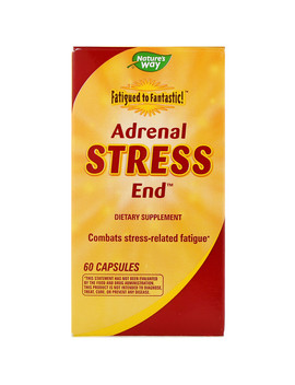 Nature's Way, Fatigued To Fantastic!, Adrenal Stress End, 60 Capsules by Nature's Way