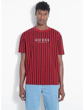 Guess Originals Oxford Stripe Tee by Guess