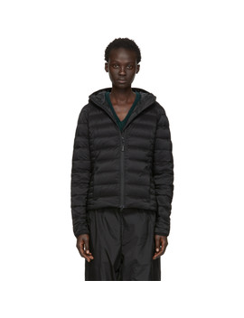 Black 'black Label' Down Brookvale Jacket by Canada Goose
