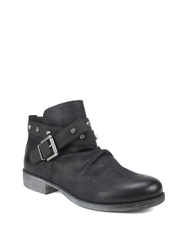 Savant Buckled Ankle Bootie by White Mountain Footwear