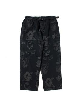 Gasius All Over Jehovah Pants   Black by Garmentory