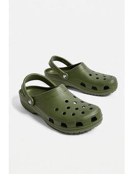 Crocs Classic Army Green Clogs by Crocs