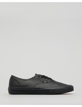 Authentic Leather Shoes by Vans